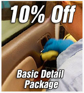 Nate's Special 10% off Basic Detail